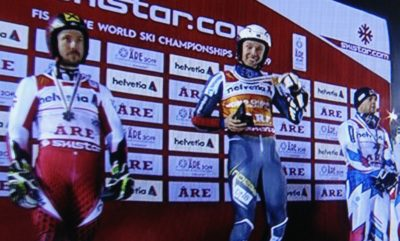 first VM gold, in Åre