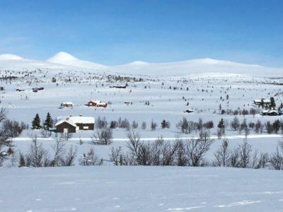 Hytte at Kvitfjell